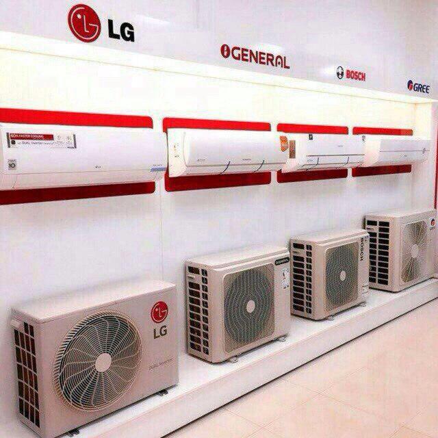 خرید و فروش عمده انواع کولر گازی اینورتر گاز R410